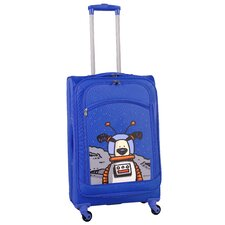 "Moon Dog 24"" Spinner Suitcase"