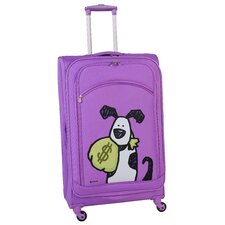 "Money Doggie 24"" Spinner Suitcase"