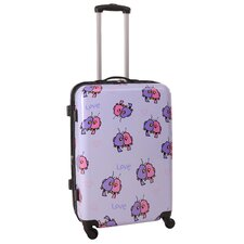 "Multi Love Birds 25"" Hardsided Spinner Suitcase"