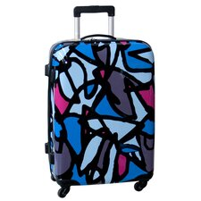 "Scribbles 25"" Hardside Spinner Suitcase"