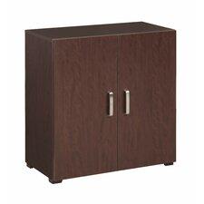 "Multifunctional 30"" H Cube Two Shelf Shelving Unit"