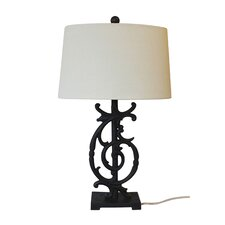 "Campania 26.5"" H Table Lamp with Empire Shade"