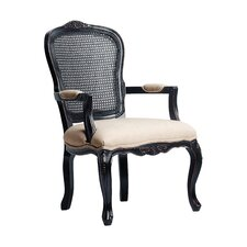 Ayla Carved Arm Chair