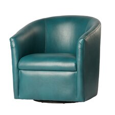 Draper Swivel Barrel Chair