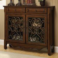 European 2 Drawer 2 Door Cabinet