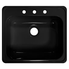 "Deluxe 25"" x 22"" x 9"" Kitchen Sink"