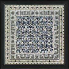 Tile 11 Framed Graphic Art