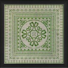 Tile 8 Framed Graphic Art