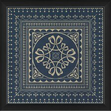 Tile 3 Framed Graphic Art