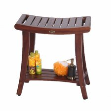 Harmony Teak Asian Shower Bench