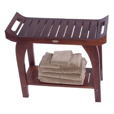 Tranquility Teak Asia Extended Height Bench