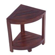 Classic Spa Teak Corner Outdoor Table