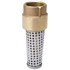 "0.75"" Brass Low Lead Foot Valve"