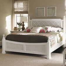 Ivory Key Panel Bed