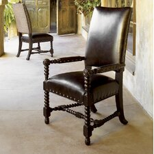 Kingstown Edwards Leather Arm Chair (Set of 2)