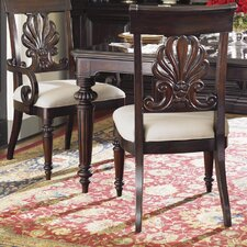 Island Traditions Chester Carved Side Chair