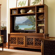 Island Estate Nevis TV Stand with Hutch