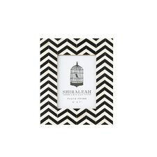 Loft Chevron Inlay Picture Frame