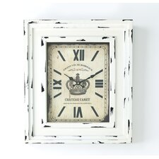 Chateau Canet Wall Clock