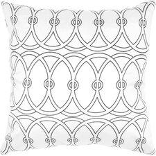 Print Entangle Silk Throw Pillow