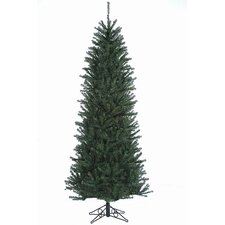 7.5'  Green Slim Alexandria Pine Artificial Christmas Tree