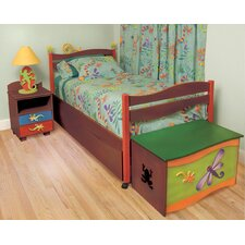 Little Lizard Twin Slat Customizable Bedroom Set