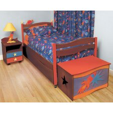 Star Rocket Twin Slat Customizable Bedroom Set