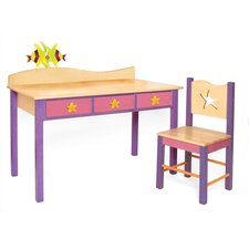 Tropical Seas Children's 2 Piece Table and Chair Set