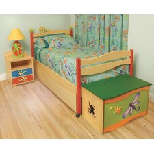Little Lizards Storage Loft/Panel Customizable Bedroom Set