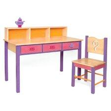 Little Girl Tea Set Children's Table and Chair Set