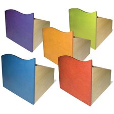 """Tropical Storage 14"""" Bookcase (Set of 5)"""