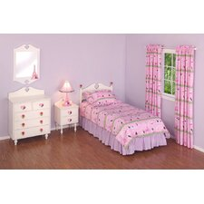 Poodles in Paris Bedroom Set