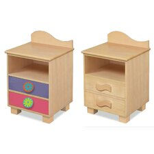 Day of the Diva 2 Drawer Nightstand