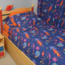 Star Rocket 4 Piece Comforter Set