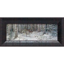 Watched Framed Painting Print