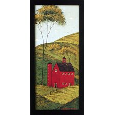 Country Panel II Framed Painting Print