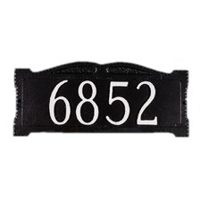 """Wall Sign with 3"""" Numbers"""