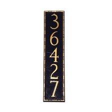 Lincoln Column Address Plaque