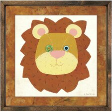Lion Framed Art