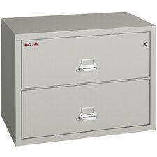Fireproof 2-Drawer Lateral File