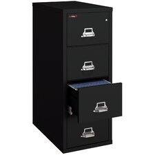 Fireproof 4-Drawer Vertical Letter File