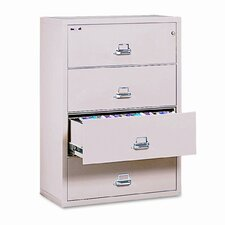 Fireproof Insulated 4-Drawer Lateral File