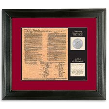 Birth of a Nation Constitution Wall Framed Memorabilia