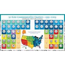 Complete Statehood Quarter Chart