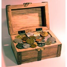 50 Foreign Coins Treasure Chest