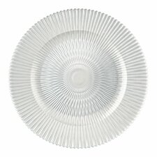 "13"" Marbella Glass Charger Plate"