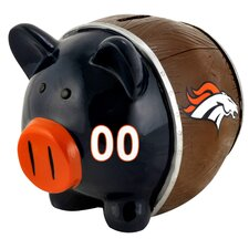 NFL Large Piggy Bank Figurine