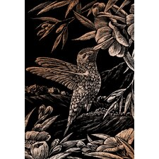 Hummingbird Art Engraving (Set of 2)