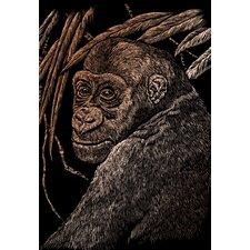 Ape Art Engraving (Set of 2)