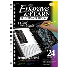 Engrave Learn Wildlife of World Fun Travel Book